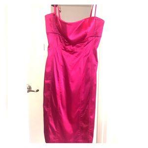 COPY - Sleek pink dress with ribs
